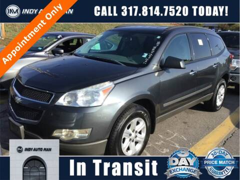 2012 Chevrolet Traverse for sale at INDY AUTO MAN in Indianapolis IN