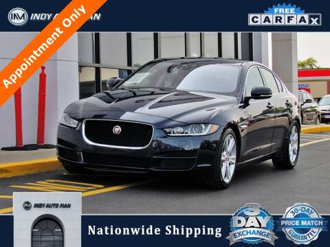2017 Jaguar XE for sale at INDY AUTO MAN in Indianapolis IN