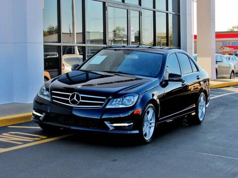 2014 Mercedes-Benz C-Class for sale at INDY AUTO MAN in Indianapolis IN