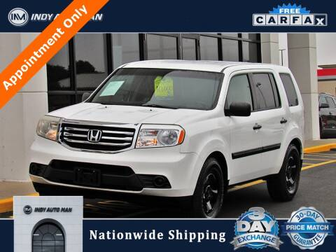 2012 Honda Pilot for sale at INDY AUTO MAN in Indianapolis IN