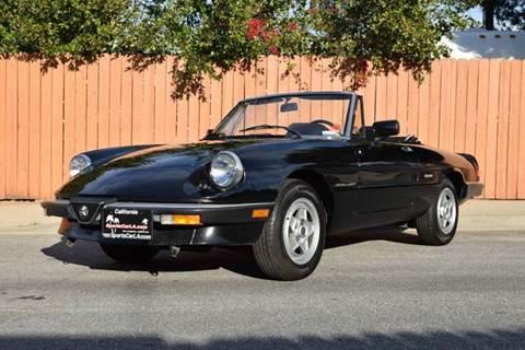 1987 Alfa Romeo Spider for sale at SportsCar LA in Lawndale CA