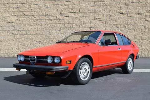 1978 Alfa Romeo Alfetta GT for sale at SportsCar LA in Lawndale CA