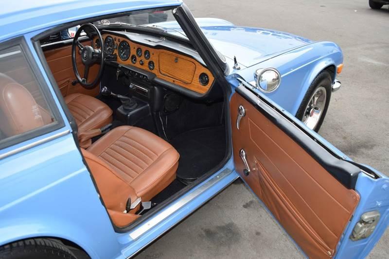 1971 Triumph TR6 for sale at SportsCar LA in Lawndale CA