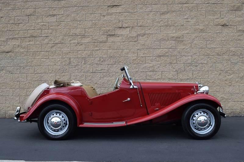 1952 MG TD for sale at SportsCar LA in Lawndale CA