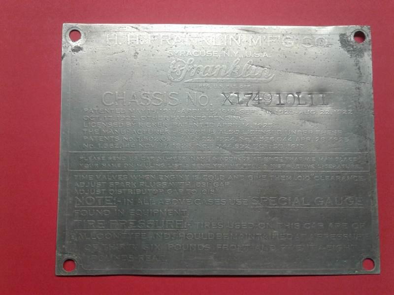 1928 FRANKLIN Ratrod for sale at SportsCar LA in Lawndale CA