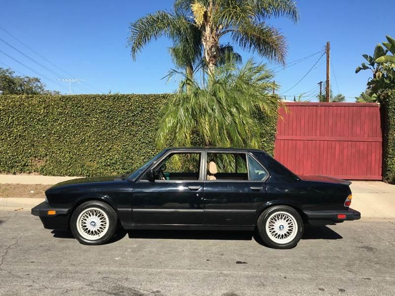 1988 BMW M5 for sale at SportsCar LA in Lawndale CA