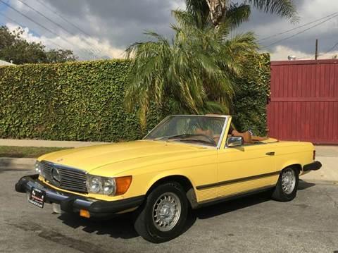 1977 Mercedes-Benz 450SL for sale at SportsCar LA in Lawndale CA