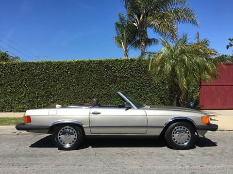 1987 Mercedes-Benz 560-Class for sale at SportsCar LA in Lawndale CA