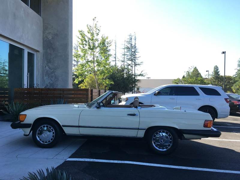1987 Mercedes-Benz 560SL for sale at SportsCar LA in Lawndale CA