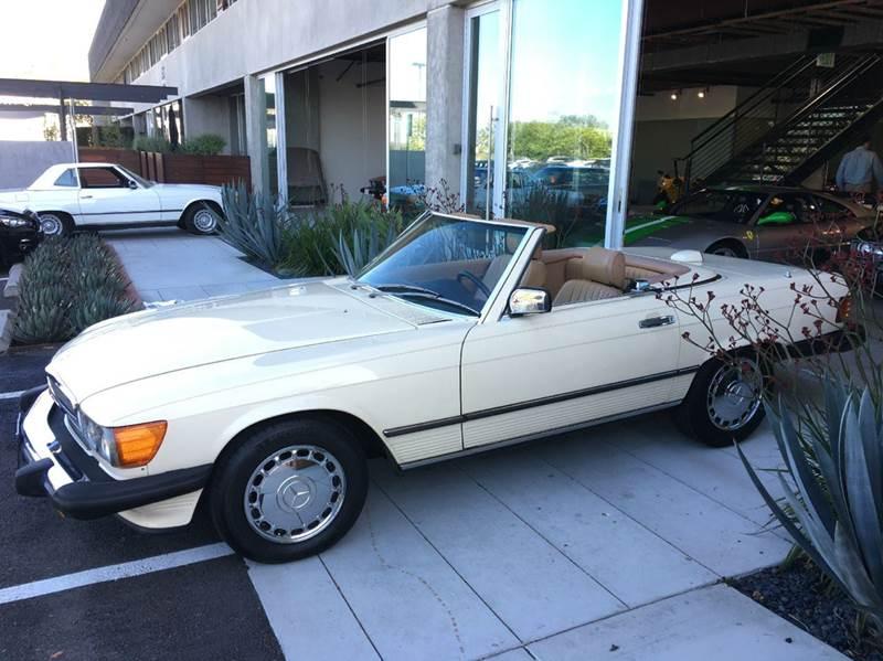 1987 Mercedes Benz 560SL For Sale At SportsCar LA In Los Angeles CA