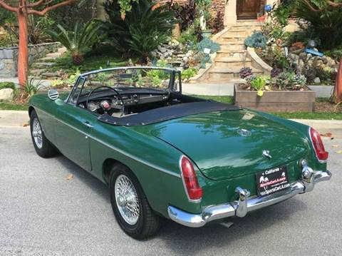 1967 MG MGB for sale at SportsCar LA in Lawndale CA