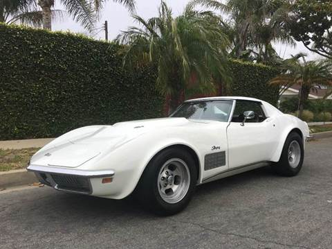 1971 Chevrolet Corvette for sale at SportsCar LA in Lawndale CA