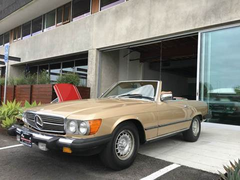1985 Mercedes-Benz 380-Class for sale at SportsCar LA in Lawndale CA