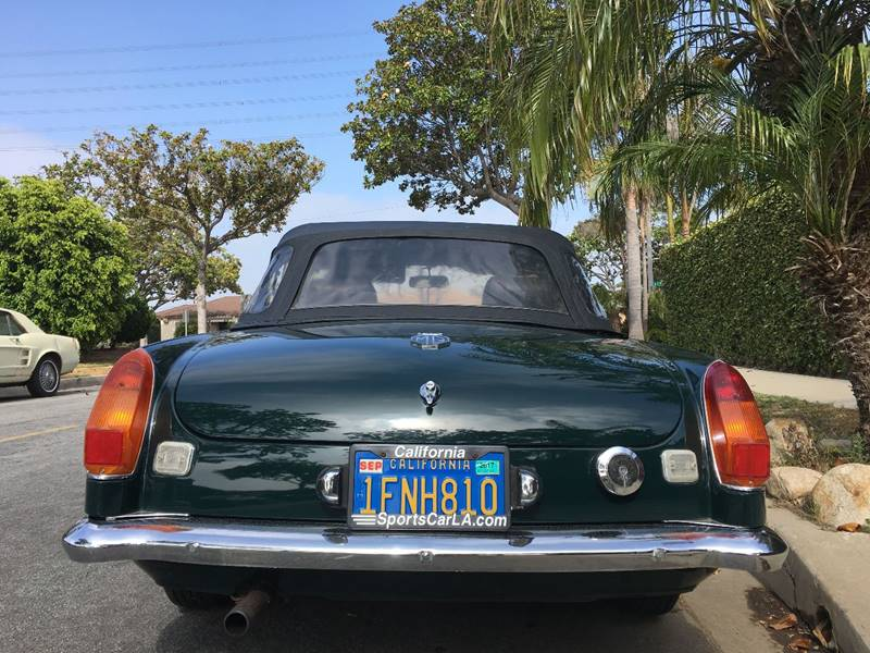 1974 MG MGB for sale at SportsCar LA in Lawndale CA