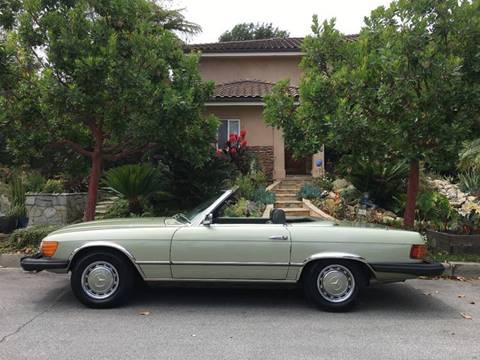 1975 Mercedes-Benz 450 SL for sale at SportsCar LA in Lawndale CA