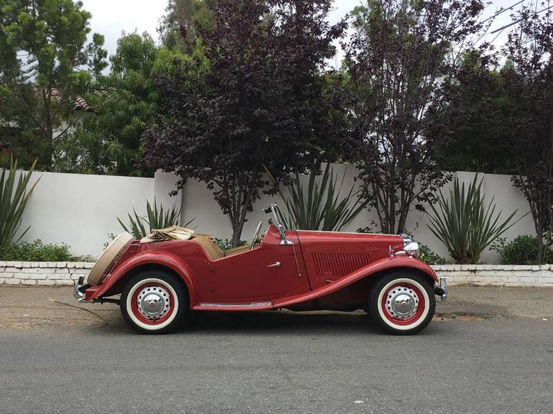 1952 MG TD In Los Angeles CA - SportsCar LA