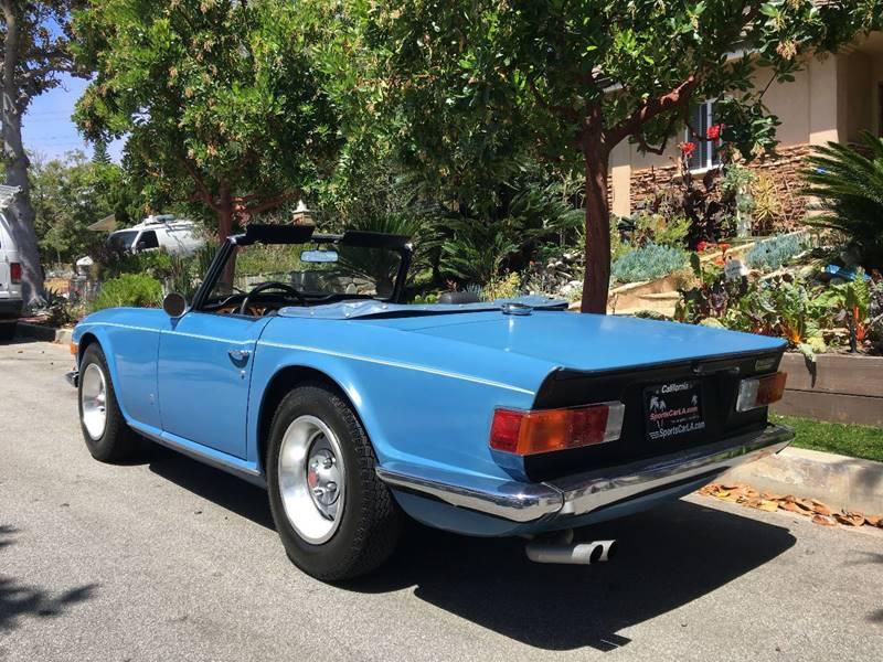 1973 Triumph TR6 for sale at SportsCar LA in Lawndale CA