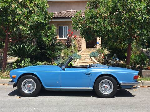 1973 Triumph TR6 for sale at SportsCar LA in Lawndale CA