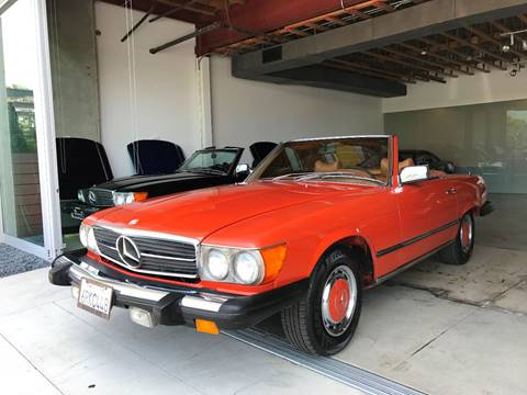 1977 Mercedes-Benz 450 SL for sale at SportsCar LA in Lawndale CA
