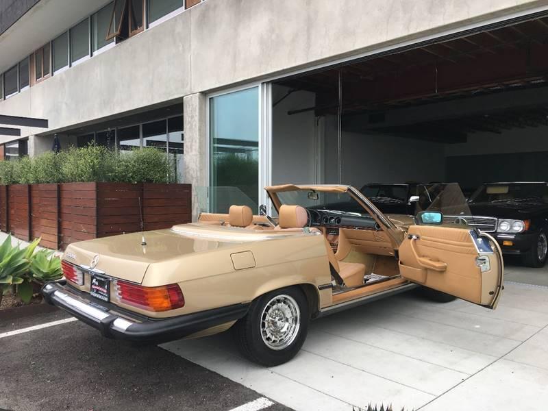 1984 Mercedes-Benz 380-Class for sale at SportsCar LA in Lawndale CA