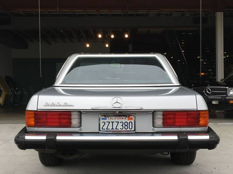 1984 Mercedes-Benz 380-Class for sale at SportsCar LA in Lawndale CA