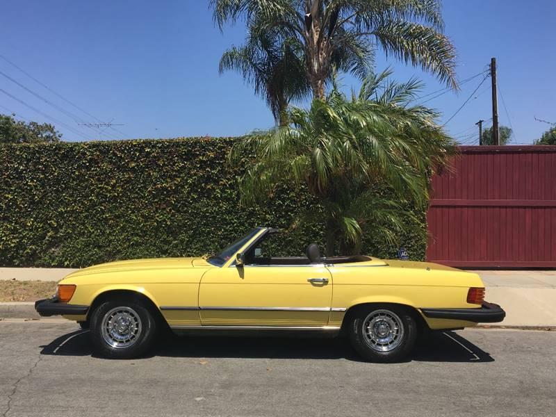 1980 Mercedes-Benz 450 SL for sale at SportsCar LA in Lawndale CA