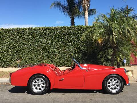 1960 Triumph TR6 for sale at SportsCar LA in Lawndale CA