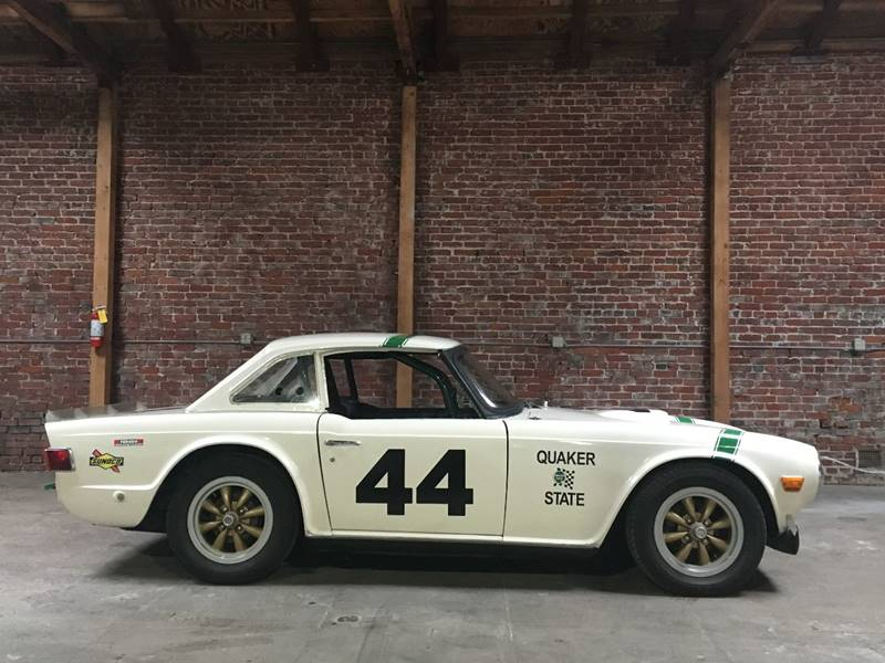 1973 Triumph TR6 V8 In Los Angeles CA - SportsCar LA