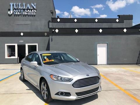 2014 Ford Fusion for sale in Warren, MI