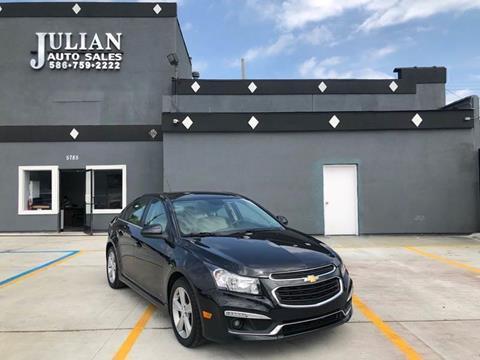 2015 Chevrolet Cruze for sale in Warren, MI