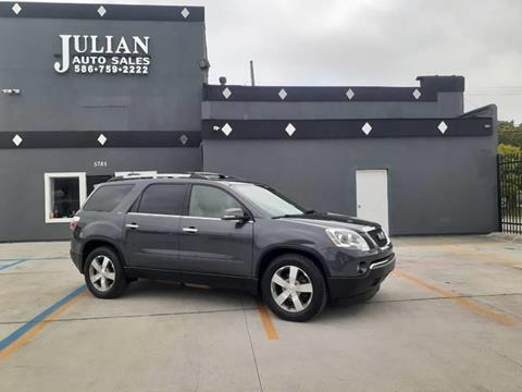 2012 GMC Acadia for sale in Warren, MI
