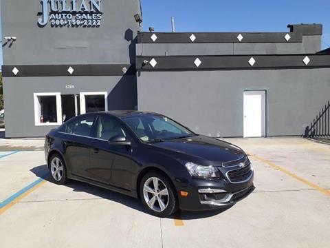 2015 Chevrolet Cruze 2LT Auto for sale at Julian Auto Sales, Inc. in Warren MI