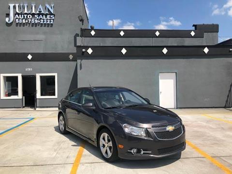 2014 Chevrolet Cruze 2LT Auto for sale at Julian Auto Sales, Inc. in Warren MI