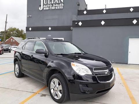 2013 Chevrolet Equinox LT for sale at Julian Auto Sales, Inc. in Warren MI