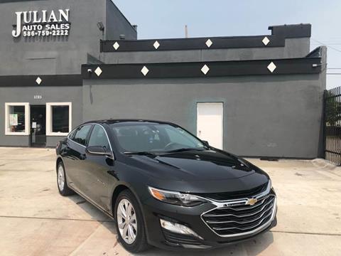2019 Chevrolet Malibu LT for sale at Julian Auto Sales, Inc. in Warren MI