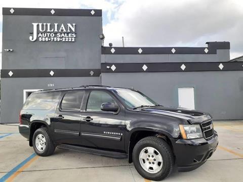 2009 Chevrolet Suburban LT 1500 for sale at Julian Auto Sales, Inc. in Warren MI