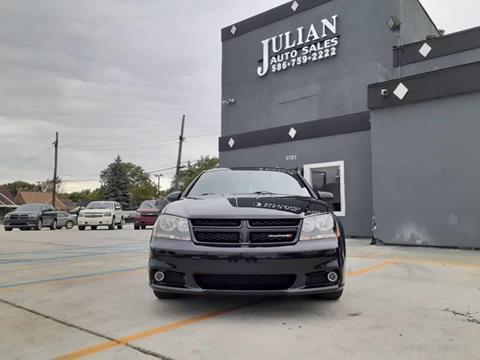 2014 Dodge Avenger SXT for sale at Julian Auto Sales, Inc. in Warren MI
