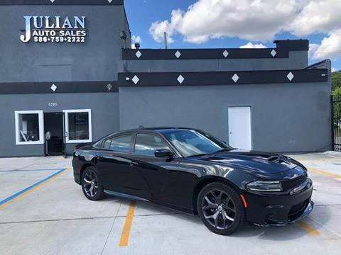 2019 Dodge Charger GT for sale at Julian Auto Sales, Inc. in Warren MI