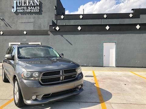 2011 Dodge Durango R/T for sale at Julian Auto Sales, Inc. in Warren MI