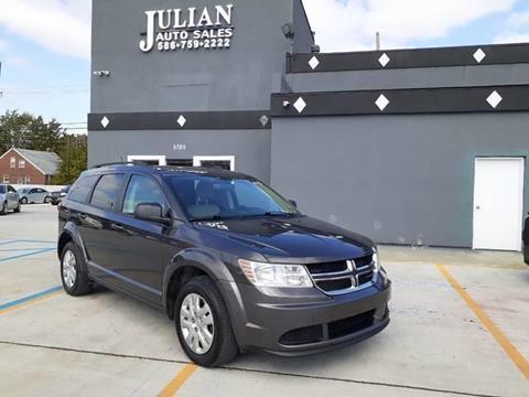2017 Dodge Journey SE for sale at Julian Auto Sales, Inc. in Warren MI