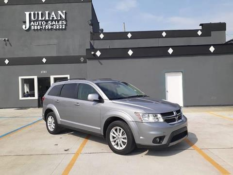 2015 Dodge Journey SXT for sale at Julian Auto Sales, Inc. in Warren MI