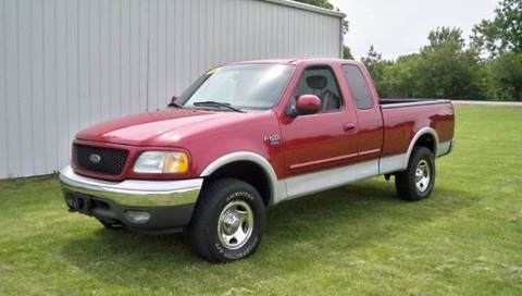 2002 Ford F-150 for sale at Goodland Auto Sales in Goodland IN