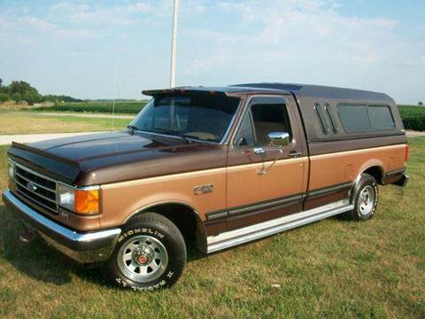 1990 Ford F-150 for sale at Goodland Auto Sales in Goodland IN