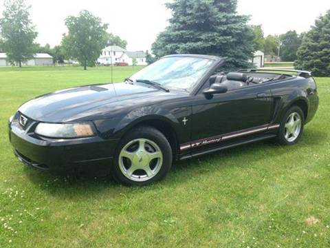 2001 Ford Mustang for sale at Goodland Auto Sales in Goodland IN