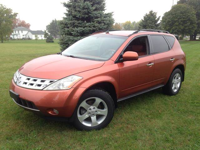 2004 Nissan Murano for sale at Goodland Auto Sales in Goodland IN
