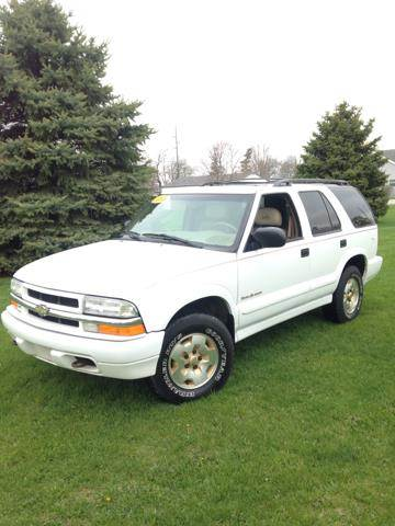 2001 Chevrolet S-10 Blazer for sale at Goodland Auto Sales in Goodland IN