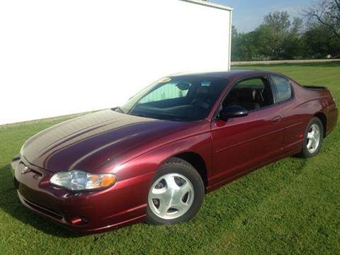 2001 Chevrolet Monte Carlo for sale at Goodland Auto Sales in Goodland IN
