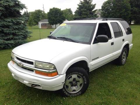 2003 Chevrolet Blazer for sale at Goodland Auto Sales in Goodland IN