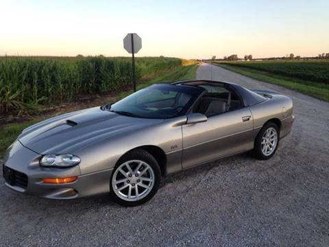 2002 Chevrolet Camaro for sale at Goodland Auto Sales in Goodland IN