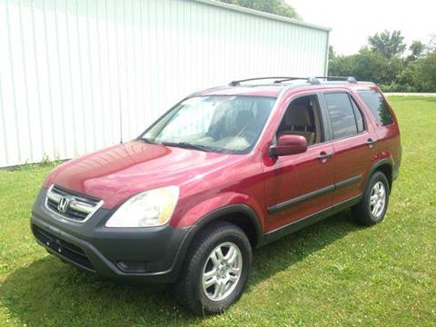 2002 Honda CR-V for sale at Goodland Auto Sales in Goodland IN